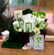 Cucumber & Melon Calming Spa Bath & Body Gift Basket