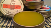 The Natural Sisterhood The Natural MAN BEARD Balm/STACHE Wax, 1 fl. oz. 30 ml