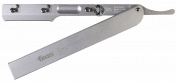 Focus Slim Al Aluminium Shavette Interchangeable Blades Straight Razor, Made in Italy