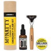 Mr Natty Emergency Flair Kit Shave Set Gift Tube