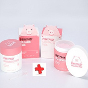 April Skin Pinky Piggy Pack Set (Collagen Pack 100g*1 + Carbonated Pack 100g*1)/100% Authentic Direct Shipment from Korea