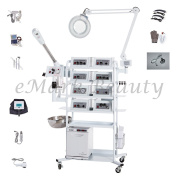 eMark Beauty 18 in 1 T4DW Multifunction Facial Machine Ozone Aromatherapy Steamer Microdermabrasion. ON ALL WARRANTY WORK