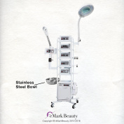 eMark Beauty 15 in 1 T5 Multifunction Facial Machine Ozone Aromatherapy Steamer Microdermabrasion. ON ALL WARRANTY WORK