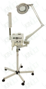 Ozone Steamer, 5 Diopter Magnifying Lamp and Electronic Brush By Skin Act
