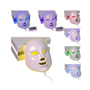 Alice'LED Photon Therapy Mask 7 Colours Light Treatment Facial Beauty Skin Care Mask
