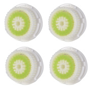 Pursonic Compatible Replacement Facial Cleansing Brush Heads (4-Pack), designed for Acne Cleansing, fits Mia, Mia2, Mia3 (Aria), SMART Profile, Alpha Fit, Pro, Plus and Radiance Cleansing Systems
