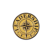 None - Leadership Compass Lapel Pin