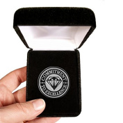 Velvet presentation Box - Commitment to Excellence Lapel Pin