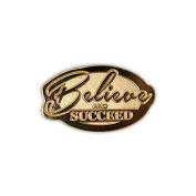 None - Believe & Succeed Lapel Pin