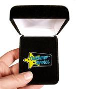 Velvet presentation Box - Customer service Lapel Pin