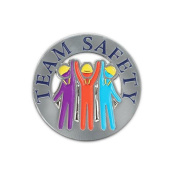 None - Team Safety Lapel Pin