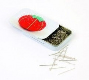 Groves PT/670S Standard Size Dressmakers Pins 0.59 x 32mm In A Slide Top Tin