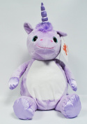 EB Embroider Violette Unicorn 41cm Embroidery Stuffed Animal