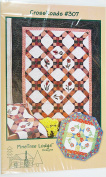 Crossroads Flower Quilt #307 by Pinetree Lodge Designs Quilt Pattern