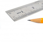12 inch/30 cm Stainless Steel Ruler - Pack of 6