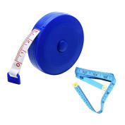 LACS Tape Measure Set Soft Roll Tape Measuring Retractable 150cm 1.5 Metre