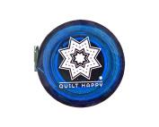Quilt Happy Tape Measure Blue