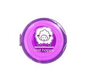 Knit Happy Tape Measure Purple