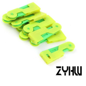 ZYHW Sewing Automatic Needle Threader Thread Guide 10pcs Yellow Green