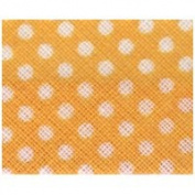 Essential Trimmings ETR20220/263 | Yellow Polka Dot Cotton Bias Binding 20mmx25m