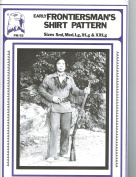 Eagle's View Patterns - Early Frontierman's Shirt Pattern