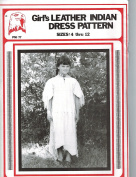 Eagle's View Patterns - Girl's Indian Leather Dress Pattern