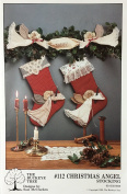 The Buckeye Tree #112 Christmas Angel Stocking Pattern