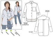 Style Arc Sewing Pattern - Lauren Boyfriend Shirt (Sizes 04-16) - Click for Other Sizes Available