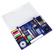 Joyoldelf Household Multi-functional Sewing Box Set