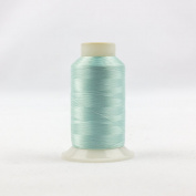 WonderFil Invisafil Specialty Thread, 2-Ply Cottonized Soft Polyester, 100wt - Pale Aqua, 2500m