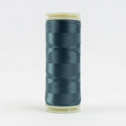 WonderFil Invisafil Specialty Thread, 2-Ply Cottonized Soft Polyester, 100wt - Dusky Teal, 400m