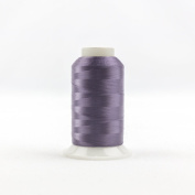 WonderFil Invisafil Specialty Thread, 2-Ply Cottonized Soft Polyester, 100wt - Dusky Violet, 2500m