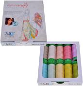 Pat Bravo Eye Candy Aurifil Thread Kit 10 Small Spools 40 Weight PB40EC10
