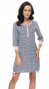 DN Nightwear Women's Nightdress TM. 9104 Baby Maternity Pregnancy Feeding Time