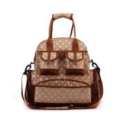 Cheerlife Multifunctional Mother Handbag Backpack Shoulder Bag Baby Changing Bag Nappy Bag Case Pouch