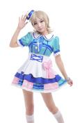 ROLECOS Aqours Watanabe You Sailor Suit Dress Cosplay Costume M