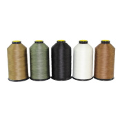 SGT KNOTS Mil Spec Bonded Nylon Sewing Thread - Made in USA - Several Colours