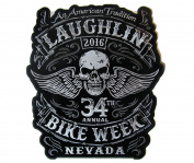 2016 Laughlin, Nevada Bike Week Rally Iron On Patch