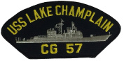 US Navy USS LAKE CHAMPLAIN CG-57 PATCH - Veteran Owned Business