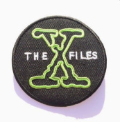The X-Files Patch Embroidered Iron / Sew on Badge XFiles Poster Souvenir Alien Extra Terrestrial Applique