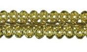 Trimplace Gold Metallic 1.3cm CHINESE BRAID 12 Yards