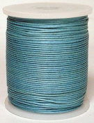 Blue Bird Brand - 2.0mm Baby Blue Polished Braided Cotton Cord. 100 metres per spool. Includes 1 spool.