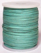 Blue Bird Brand - 2.0mm Sea Green Polished Braided Cotton Cord. 100 metres per spool. Includes 1 spool.