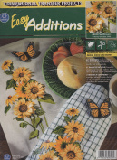Coats 3 Dimensional Transfer Project Easy Additions Sunflowers Kit