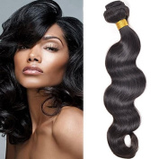 Sunny Top Quality 1 Bundle 70cm Body Wave Weave Hair Extensions 100% Brazilian Virgin Human Hair Weft Natural Colour 100g
