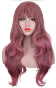Hxhome Womens Natural Curly Party and Daily Use Wig