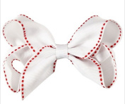 BFab 10cm Baby Girl's Bow Hair Pin Clip Boutique Lined