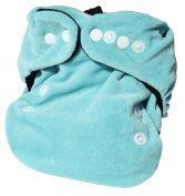 P 'tits So Bamboo Nappy with Opal insert Black