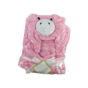 Harson & Jane Super Soft Coral Hooded Baby Bathrobe Animal Shape Wrap Blanket 0-6 Years Old 100cm x 100cm
