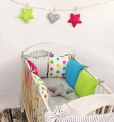 Baby Bedding Design18 Bumper Bed Set Baby Duvet 100 x 135 Cushion Bed Border